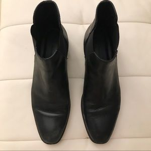 Zara leather Chelsea ankle boots - 9